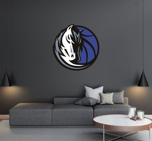 Dallas Mevericks Logo Wall Decal