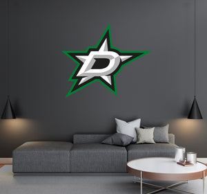 Dallas Stars - NHL Hockey Team Logo - Wall Decal Removable & Reusable For Home Bedroom