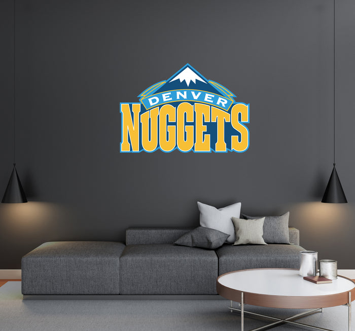 Denver Nuggets Logo Wall Decal