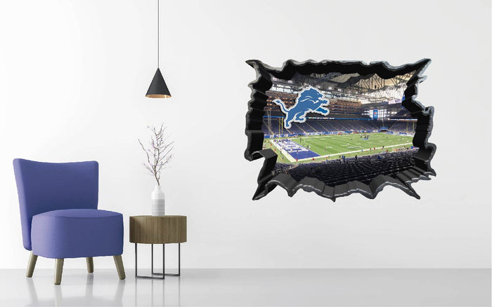Detroit Lions Stadium Wall Decal
