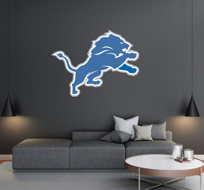 Detroit Lions Logo Wall Decal