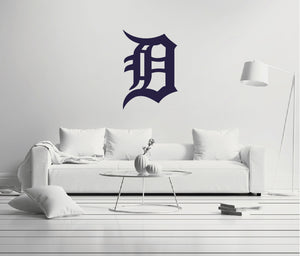 Detroit Tigers Logo Wall Decal
