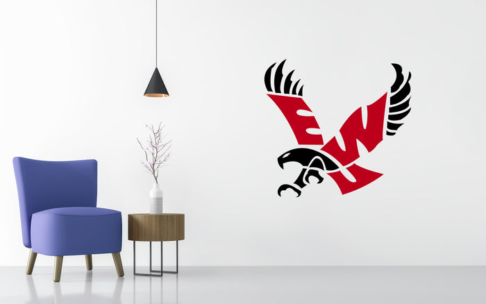 Eastern Washington Basketball NCAA Wall decal Sticker