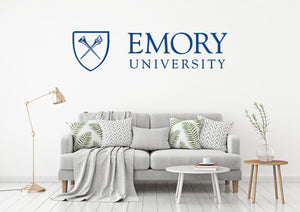 Emory University USA Georgia Universities Logo  Wall decal Stickers