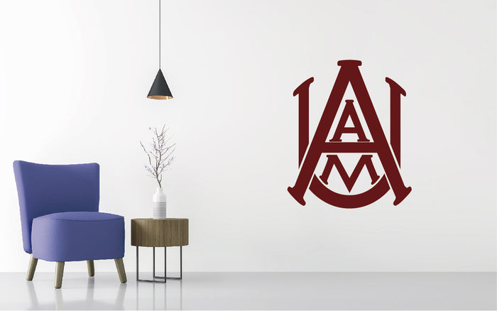 Alabama A&M Bulldogs Football NCAA Wall decal Sticker