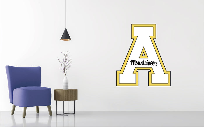 Appalachian State Mountaineers Football NCAA Wall decal Sticker