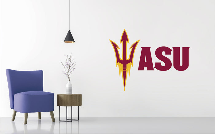 Arizona State Football NCAA Wall decal Sticker