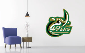 UNC Charlotte Football NCAA Wall decal Sticker