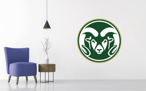 Colorado State Rams Football NCAA Wall decal Sticker