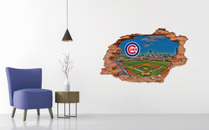 Chicago Cubs Stadium Wall Decal