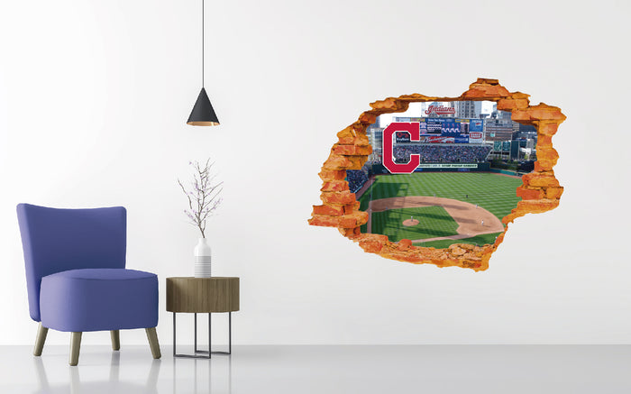 Cleveland Indians Stadium Wall Decal