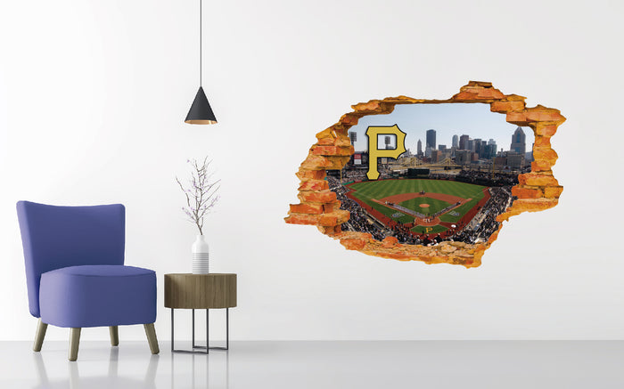 Pittsburgh Pirates Stadium Wall Decal