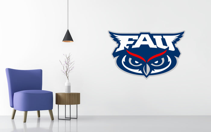 Florida Atlantic Basketball NCAA Wall decal Stickerz