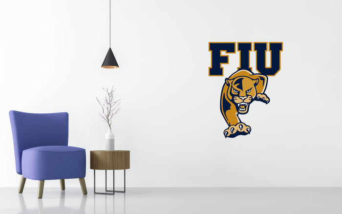 Florida International Basketball NCAA Wall decal Stickerz