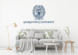 Georgetown University USA Georgetown Universities Logo  Wall decal Stickers