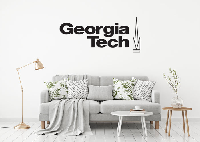 Georgia Institute of Technology USA Georgia Universities Logo  Wall decal Stickers
