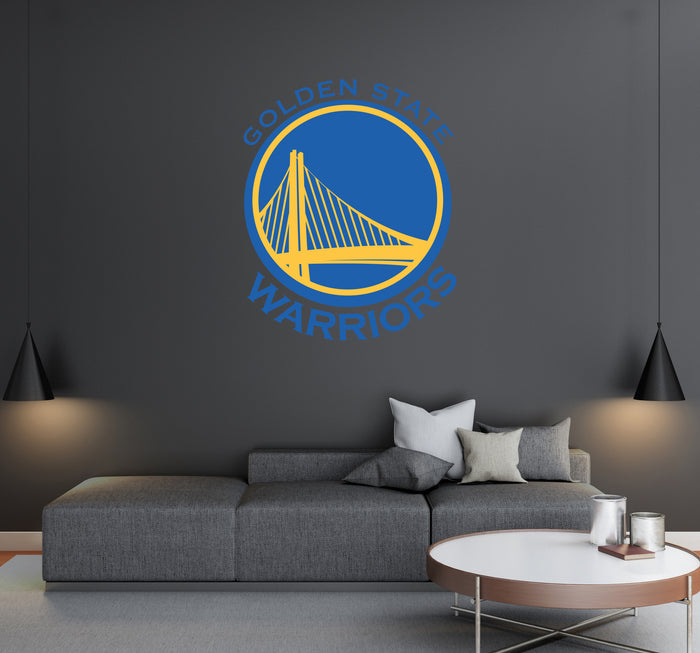 Golden State Warriors Logo Wall Decal