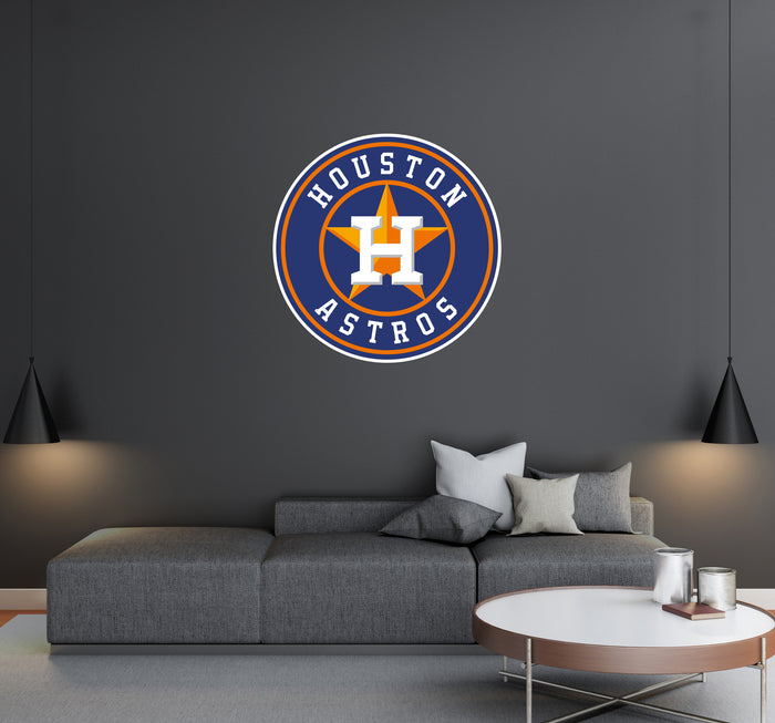 Houston Astros Logo Wall Decal