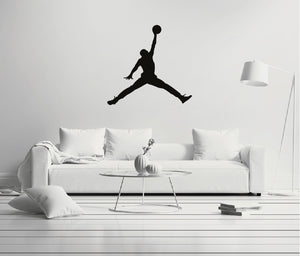 Michael Jordan Jumpman Wall Decal.