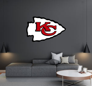 Kansas City Chiefs Logo Wall Decal
