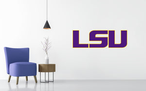 LSU Tigers Basketball NCAA Wall decal Sticker