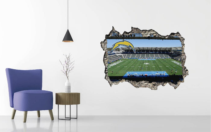 Los Angeles Chargers Stadium Wall Decal