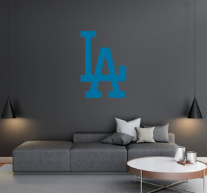 Los Angeles Dodgers - MLB Baseball Team Logo - Wall Decal Removable & Reusable For Home Bedroom