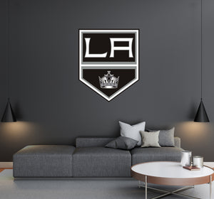 Los Angeles Kings - NHL Hockey Team Logo - Wall Decal Removable & Reusable For Home Bedroom