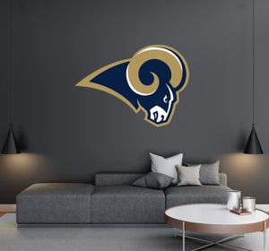 Los Angeles Rams Logo Wall Decal