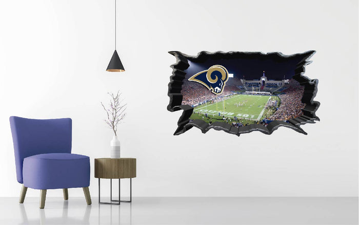 Los Angeles Rams Wall Decal