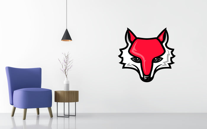 Marist Red Foxes Basketball NCAA Wall decal Sticker