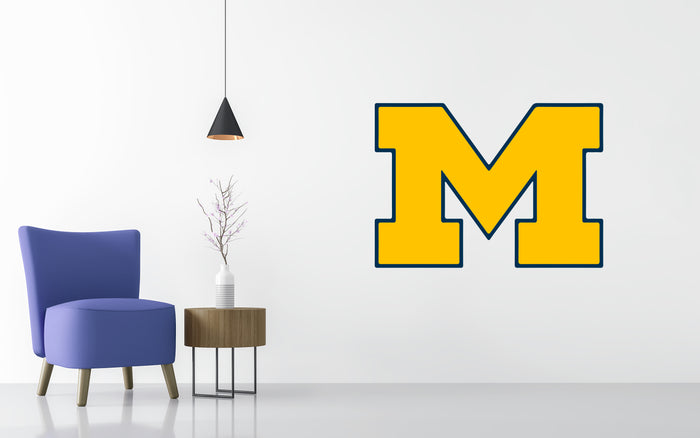 Michigan Wolverines Basketball NCAA Wall decal Sticker