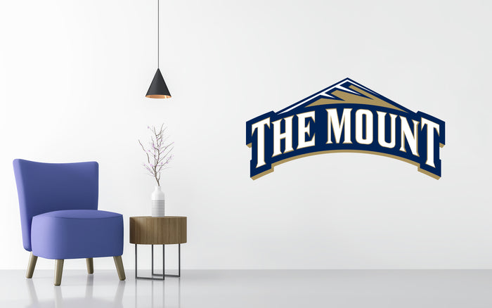 Mount St. Mary's University Basketball NCAA Wall decal Sticker