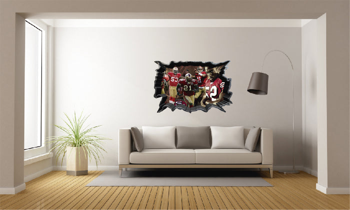 NFL San Francisco 49ers Wall Decal