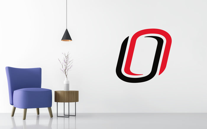 Nebraska-Omaha Mavericks Basketball NCAA Wall decal Sticker
