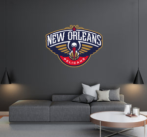 New Orleans Pelicans Basketball Team Logo - Wall Decal Removable & Reusable For Home Bedroom