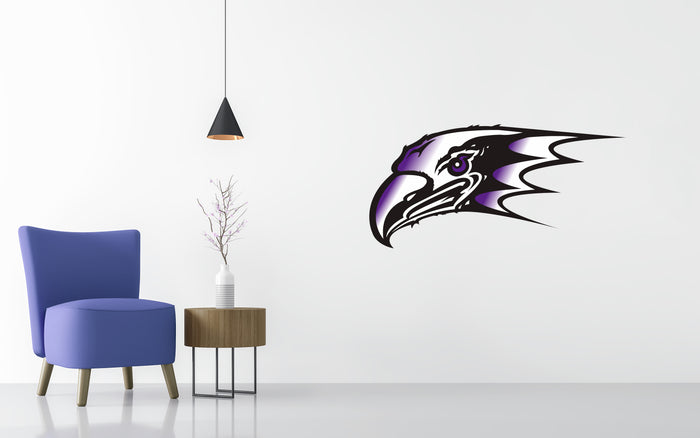 Niagara Purple Eagles Basketball NCAA Wall decal Sticker