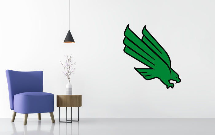 North Texas Basketball NCAA Wall decal Stickerz