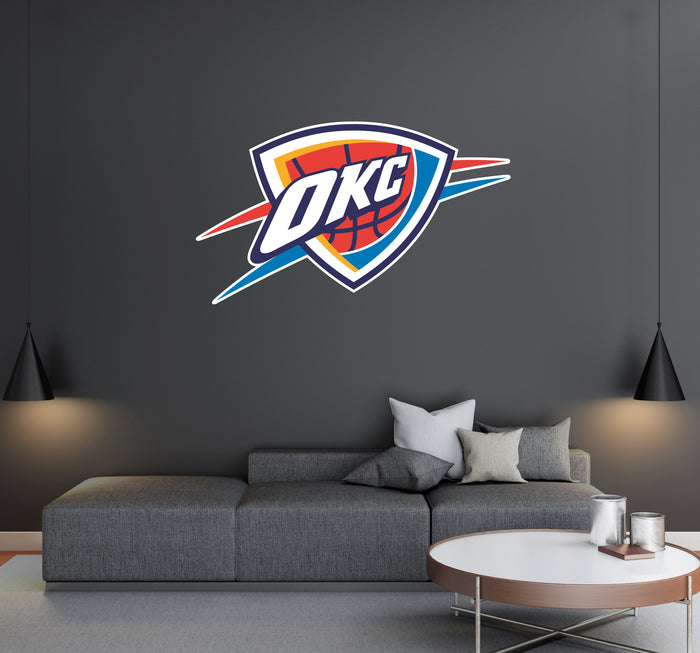 Oklahoma City Logo Wall Decal