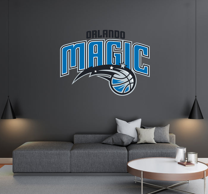 Orlando Magic Logo Wall Decal