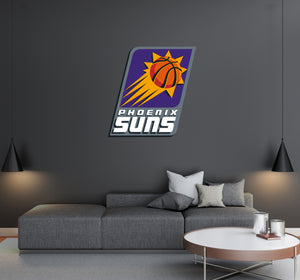Phoenix Suns - NBA Basketball Team Logo - Wall Decal Removable & Reusable For Home Bedroom