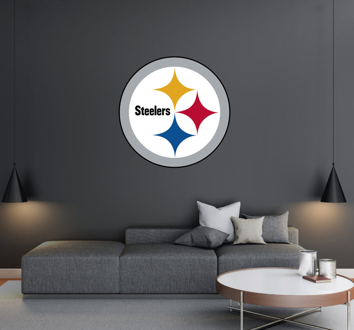 Pittsburgh Steelers Logo Wall Decal
