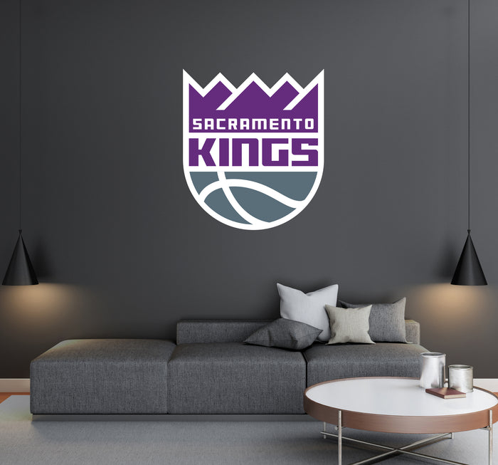 Sacramento Kings Logo Wall Decal