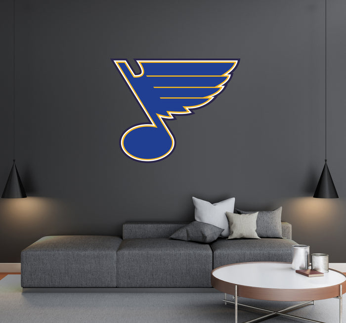 Saint Louis Blues Logo Wall Decal