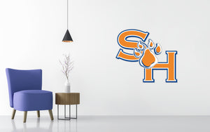 Sam Houston State Bearkats Basketball NCAA Wall decal Sticker