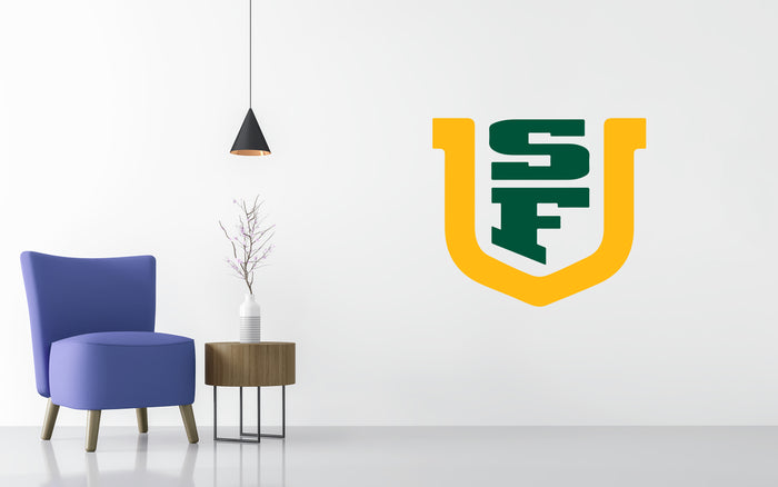 San Francisco Dons Basketball NCAA Wall decal Stickerw