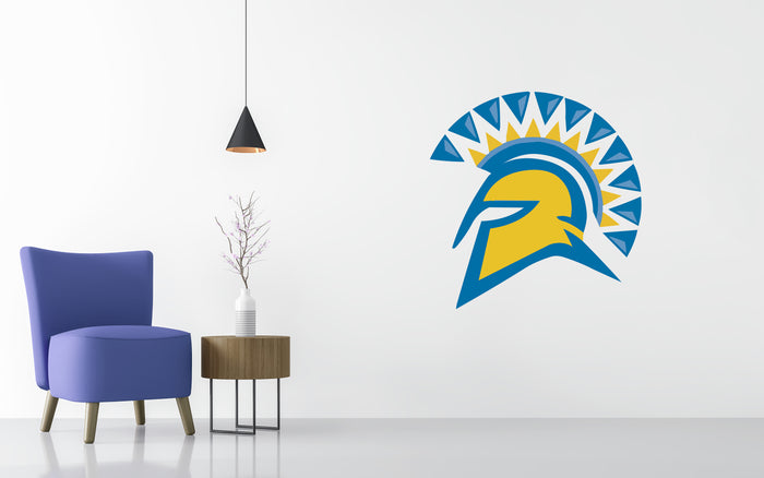 San Jose State Spartans Basketball NCAA Wall decal Sticker