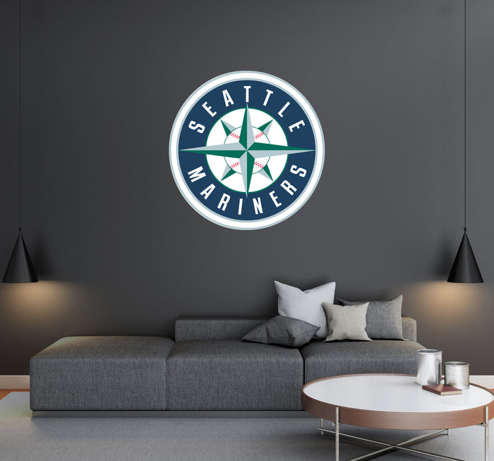 Seattle Mariners Logo Wall Decal