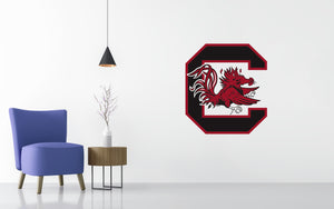 South Carolina Gamecocks Basketball NCAA Wall decal Sticker