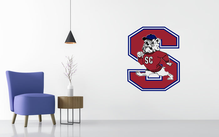 South Carolina State Basketball NCAA Wall decal Sticker